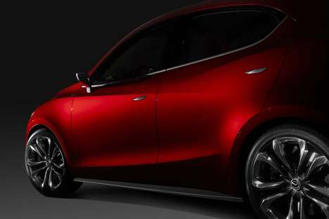 Performance-Driven Concept Cars - The New Mazda Hazumi Concept Car is Artfully Crafted
