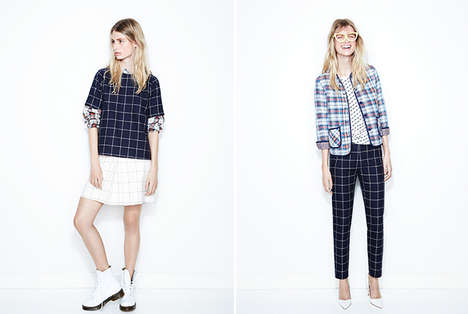 Gingham Pantsuit Getups - The Kule Spring 2014 Collection is Effortlessly Cool