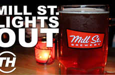 Collaborative Eco-Friendly Breweries - Mill St. Brewery Joins Earth Day Canada for Lights Out