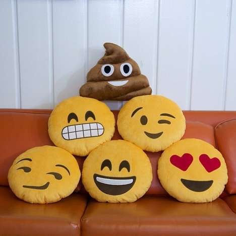 Lifesized Emoji Pillows - Now You Can Make Your Sofa Happy with These Emoji Throw Pillows