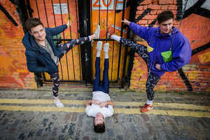 sTitch Presents Marvellously Masculine Mens Leggings