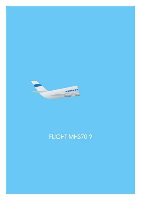 Minimal World News Posters - You Stay in the Know With These Minimalist Posters