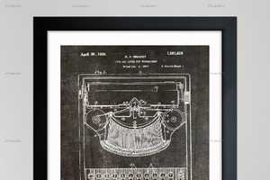 'Oliver Gal' Turns Iconic Inventions into Decorative Blueprint Art