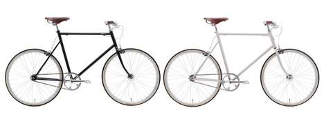 Simple Singlespeed Cycles - The Tokyobike Boasts Stylish Swept Handlebars and a Brooks Saddle