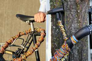 Inspired by 'Getting Around,' These Bike Locks Promote Style and Safety