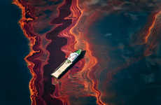 Stunning Oil-Spill Photography