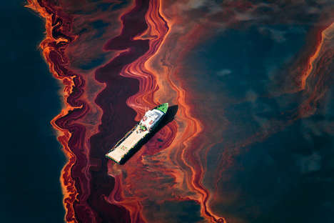 Stunning Oil-Spill Photography - The