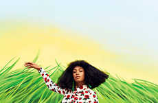 Funkily Vibrant Celeb Editorials - The Harper's Bazaar 'Solange' Photoshoot Stars Solange Knowles