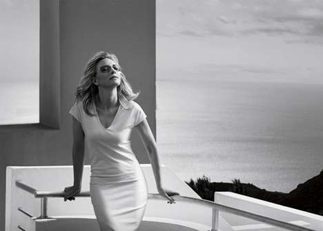 Timelessly Elegant Eyewear Ads - The Silhouette An Icon for an Icon Campaign Stars Cate Blanchett