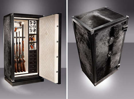 Luxurious Gun Lockers - The Liberty Gun Safe by Döttling is a 3-in-1 Safe