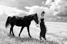 Edgy Equestrian Editorials