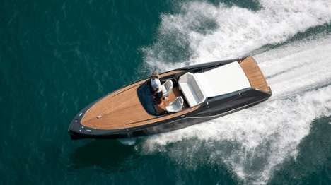 Sportscar-Inspired Speedboats - The Frauscher 858 Fantom Combines Speed, Power and Elegance