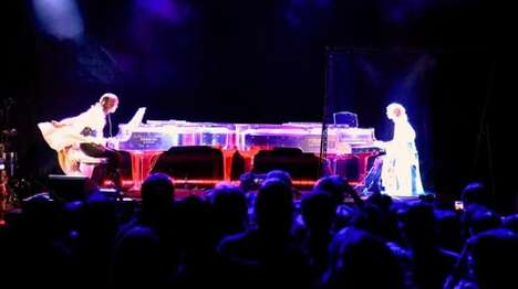 Hologram Musical Performances - Japanese Star Yoshiki Performed with a Hologram of Himself at SXSW