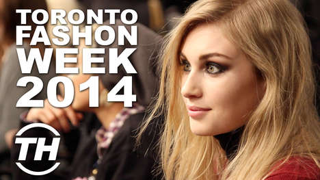 Backstage Luxurious Fashion Shows - Trend Hunter Goes Backstage at Toronto Fashion Week 2014