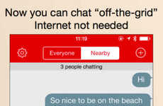 Internet-Independent Chat Apps