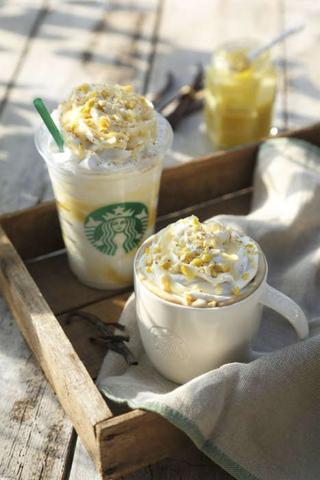 Lemon-Flavored Lattes - Starbucks Japan is Offering This Lemony Treat Just in Time for Warm Weather
