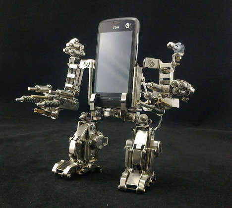 Robot Phone Holder