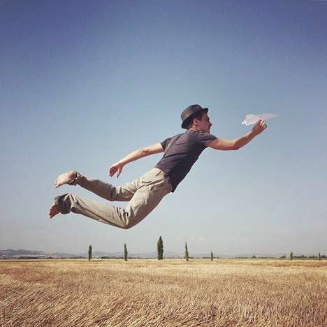 Playfully Floating Photo Series - Simone Bramante Takes Dreamy Gravity Defying iPhone Photos
