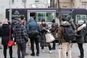 The Le Chateau Food Truck Brings Good Food to Toronto Fashion Week
