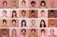 Mosaic Human Pantone Portraits