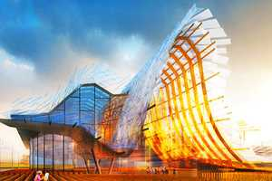 China's Pavilion for Milan Expo 2015 Has a Flowing Design