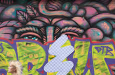 Software-Inspired Street Art - The Creatives Behind Blog 'Street Eraser' Mix Digital with Reality