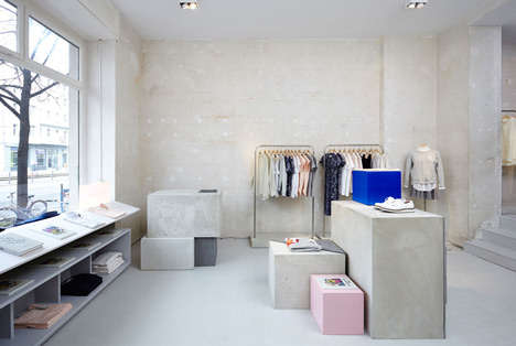 Minimalist Sportswear Pop-Up Shops - These