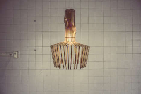 Elegant Plywood Lighting - The Canals Collection by DUX is Inspired by Native Dutch Canals