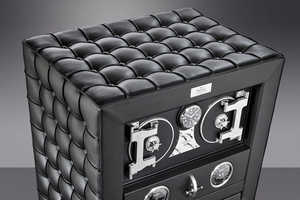 The Fortress Safe Keeps Your Valuables Vaulted in Sumptuous Style