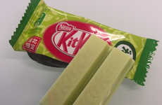 Bean-Flavored Chocolate Bars - The Green Zunda Kit Kat is Made from Ground Edamame