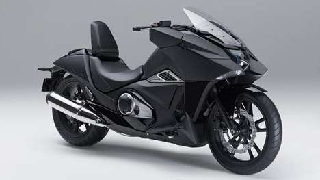 Anime Motorbike Concepts - The Honda N4M Vultus