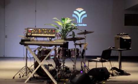 Horticultural-Made Music - Plant Music is Now Possible Thanks to MIDI Sprout Technology