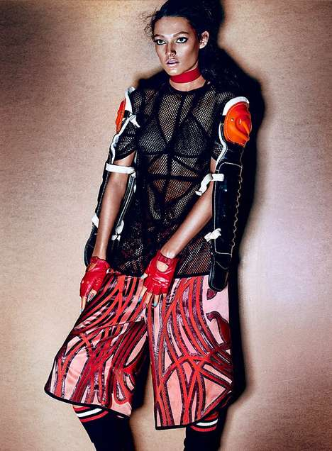 Amazonian Sporty Editorials - The Fashion Magazine