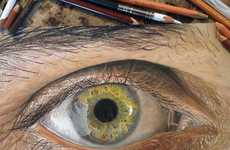 Photorealistic Eye Drawings