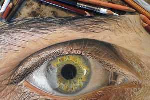 These Realistic Eye Drawings Look Like They are Photographed