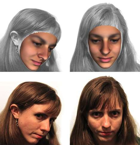 DNA-Generated Mugshots - Researchers at the University of Leuven Create Mugshots from DNA