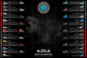 The March Madness Nike LeBron Tournament Will Crown the Best Sneaker