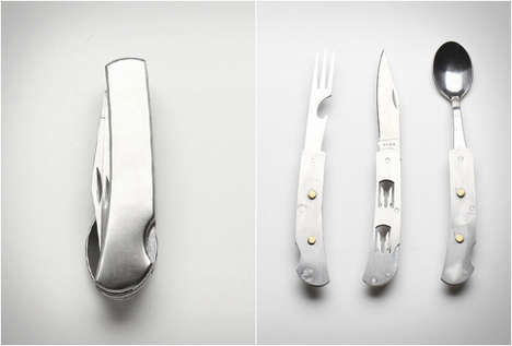 Pint-Sized Food-Tools - This Hobo Knife Will Keep You Fed During All You Camping Trips