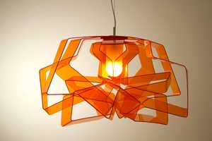 Lasso Lamps Feature Kinked and Tangled Strips of Fluorescent LEDs