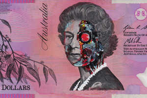 This Anonymous Australian Artist Transforms Currency into Works of Art