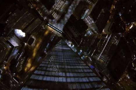 Illegal City Stunts - The NYC Freedom Tower Base Jump Involves Lax Security and a Lot of Guts