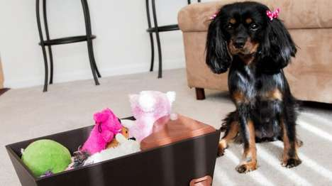 Treat-Dispensing Toy Boxes - The