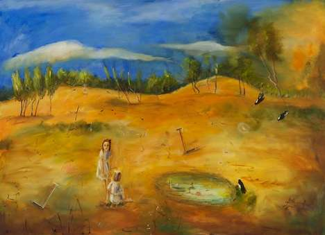 Youthful Wilderness Paintings - Artist Terry-Pauline Price is Inspired by Nature and Timelessness