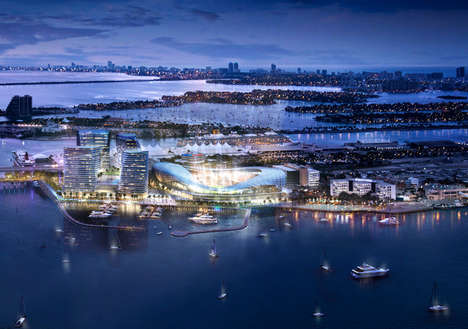 Celeb-Designed Soccer Stadiums - The MLS Stadium in Miami is Proposed by David Beckham