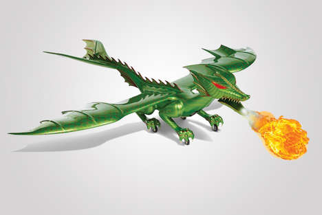 Fire-Breathing Dragon Toys - This Remote Control Dragon Will Make You the Envy of the Entire Area