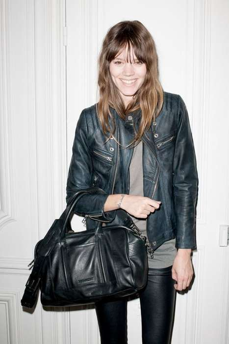 Edgy Rock Celeb Collections - Freja Beha Erchisen Designs New Collection for Zadig & Voltaire