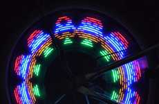 Illuminated Wheel Spokes