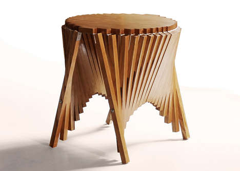 65 Chic Side Tables - From Stick-Supported Tables to Rock-Bottom Furnishings