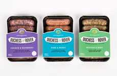 Gourmet Dog Food Packaging - Robot Food Re-Brands Duchess & Rover to Exude Elegance