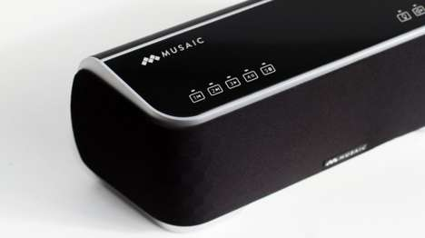 Smart Wireless Sound Systems - The Musaic Sound System Can Also Control Smart Lighting and Security